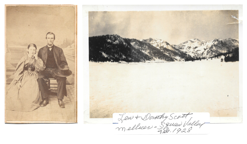 Historic photographs of Olympic Valley from the Scott family